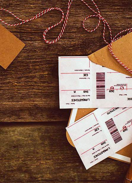Selection of tickets for travel