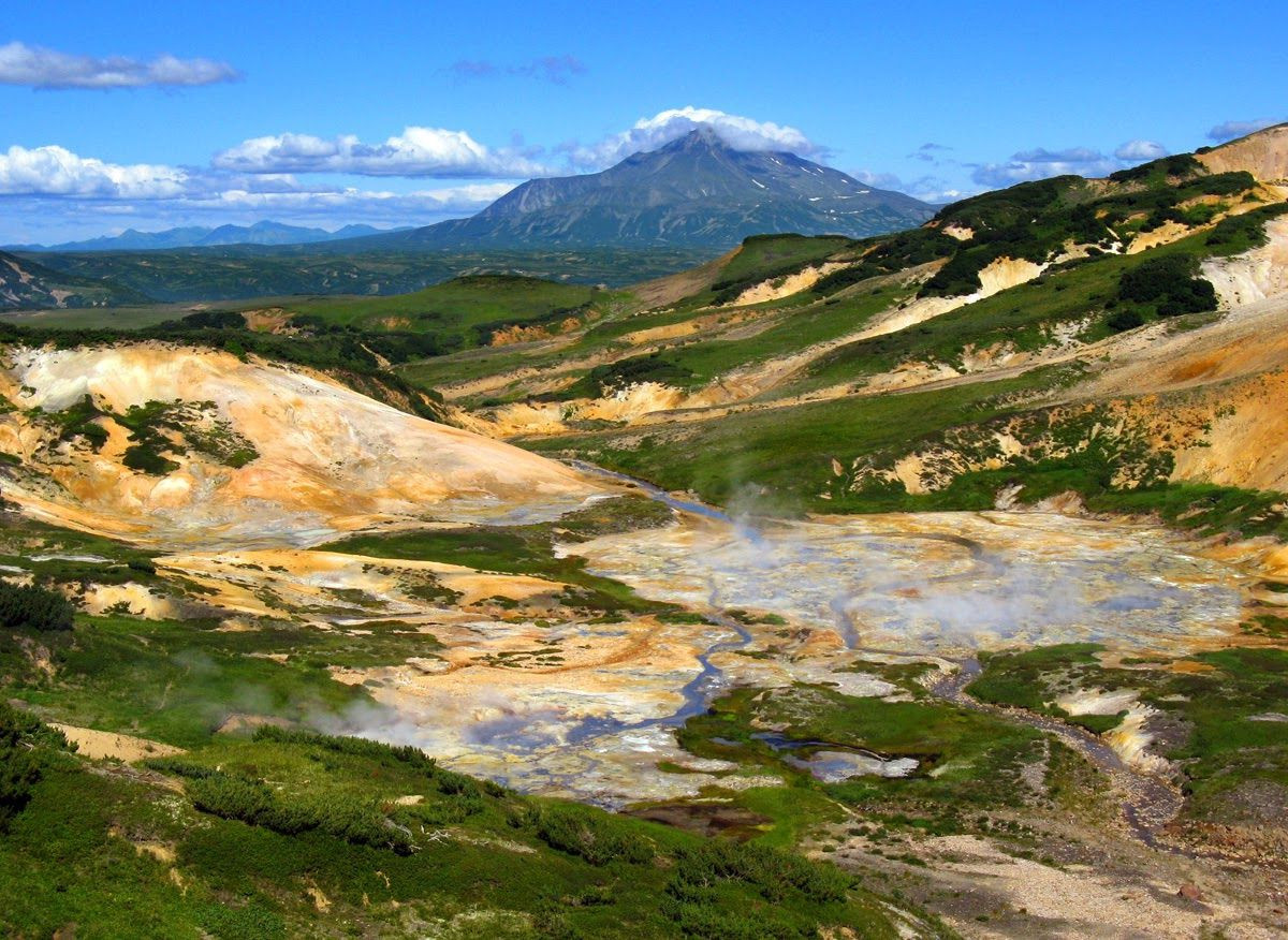 Death Valley in Kamchatka