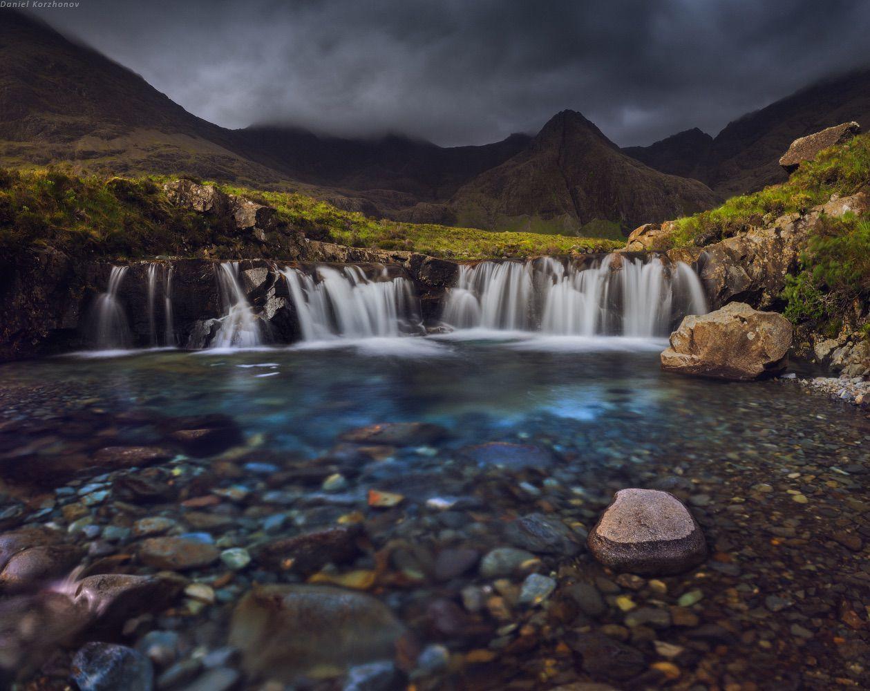 Fabulous pools on the Isle of Skye